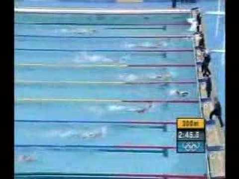 Ian Thorpe 400m free Athens 2004