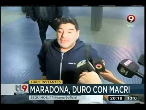 Diego pudo viajar a Dubai, pero antes hizo explosivas declaraciones