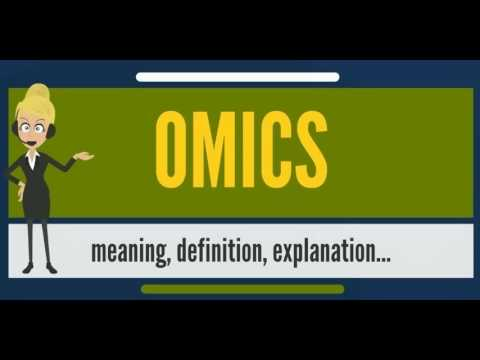 What is OMICS? What does OMICS mean? OMICS meaning, definition & explanation