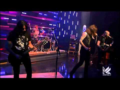 As I Lay Dying - Anodyne Sea - Live on The Daily Habit (Fuel TV)