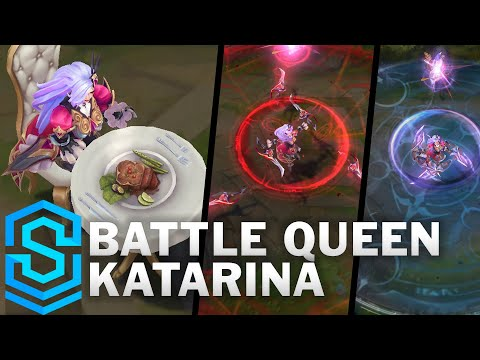 Battle Queen Katarina Skin Spotlight - Pre-Release - League of Legends