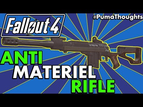 Fallout 4: Creation Club Weapons - Anti Materiel Rifle Analysis & Review (Survival) #PumaThoughts