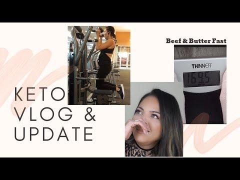 my-weightloss-journey-|-vlog-+keto-+-beef-&-butter-fast