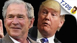 Trump Has Worse Favorable Rating Than Bush Did AFTER Katrina!