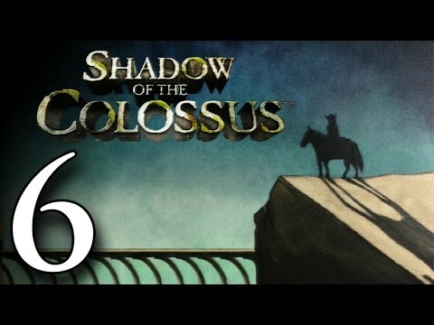 Let's Play Shadow of the Colossus HD (#6) - The 8th and 9th Colossi (Lizard & Tortoise)