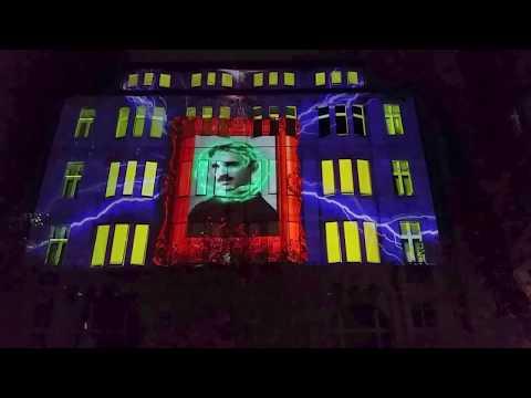 "FESTIVAL OF LIGHTS Berlin 2017 - ""HOMMAGE AN NIKOLA TESLA"""