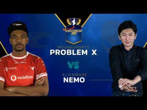 SFV: Mouz   Problem X vs AW   Nemo - Capcom Cup 2017 Top 8 - CPT2017