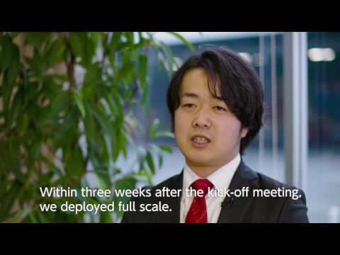 Change Logistics with IoT at Nestle Japan Shimada Factory
