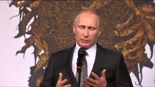 речь В. Путина на вечере памяти Василия Шукшина 4.11.2014
