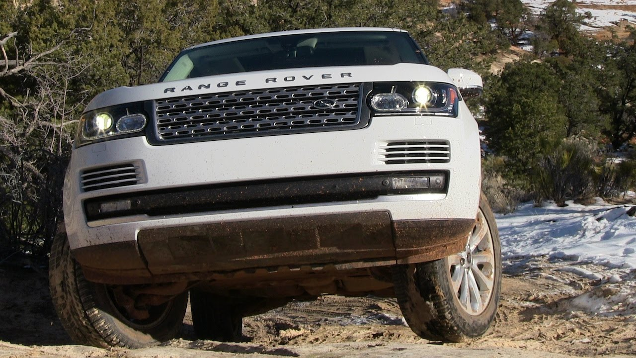 All New 2013 Range Rover Off Road Preview Raw And