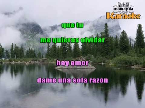 Como te olvido - Corazon Serrano -Karaoke