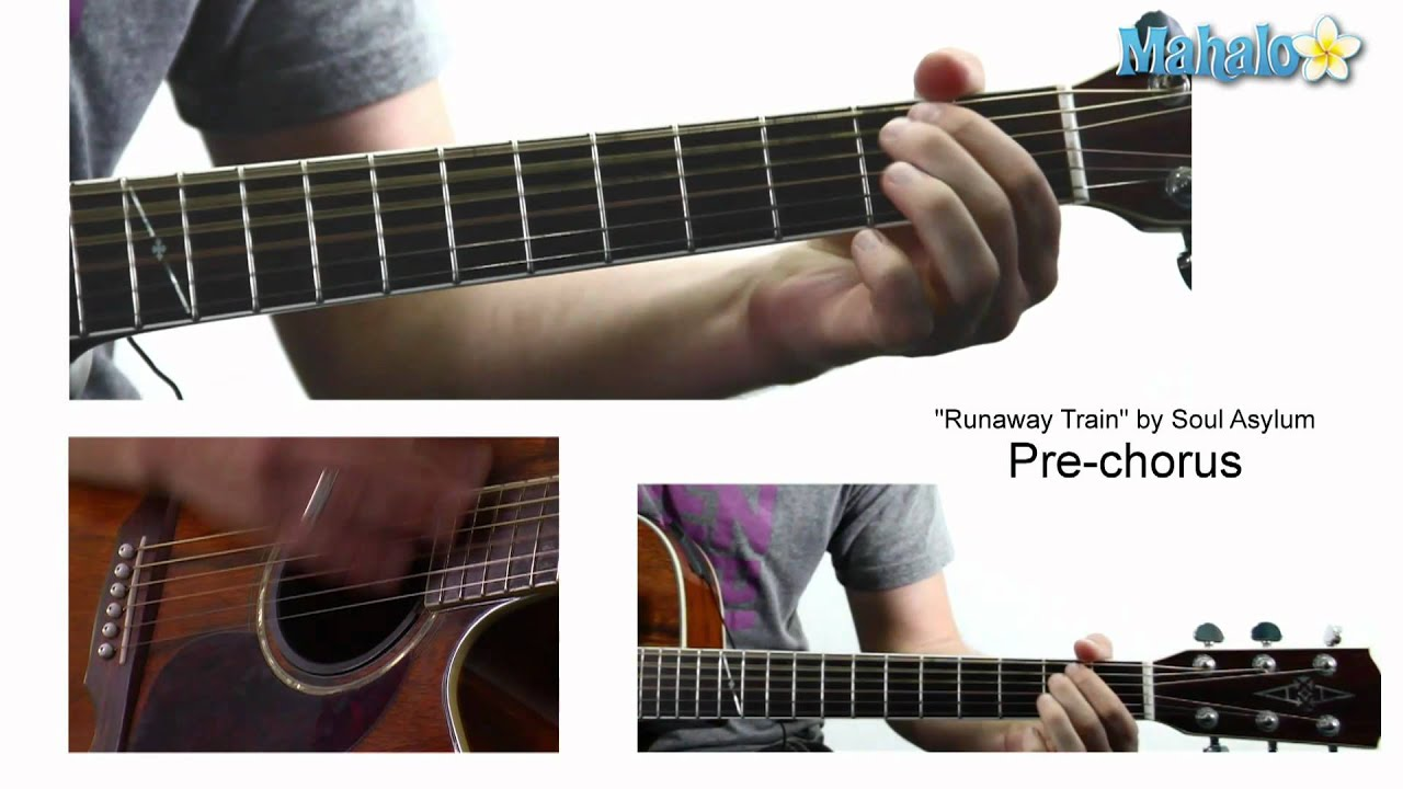 How To Play Runaway Train By Soul Asylum On Guitar Youtube