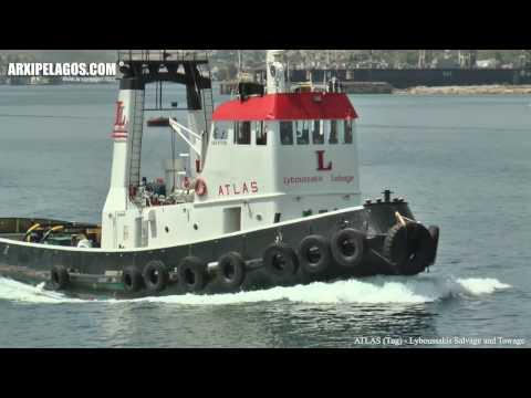ATLAS (Tug) IMO 6713087 Lyboussakis Salvage and Towage