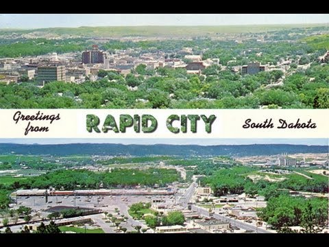 A TOUR OF RAPID CITY, SOUTH DAKOTA! (AROUND THE TOWN)