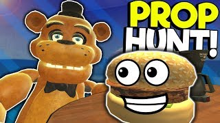 PROP HUNT IN A TRAIN STATION! - Garry's Mod Multiplayer Gameplay - Gmod Hide and Seek