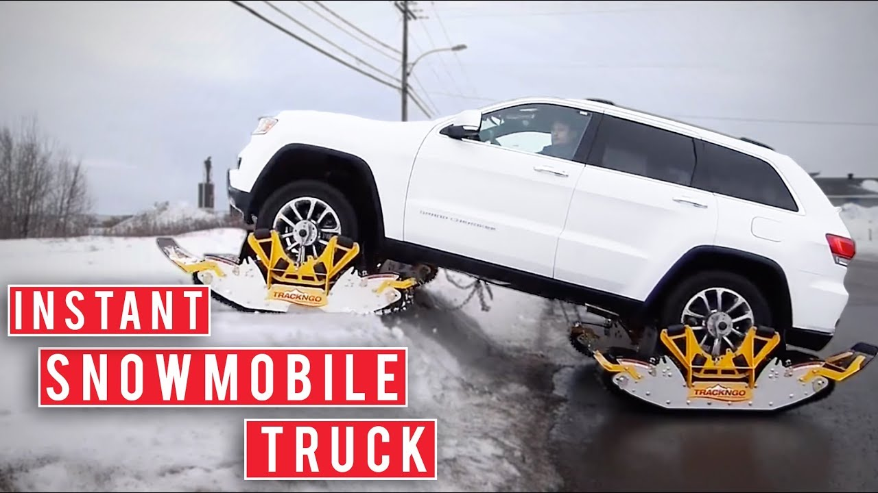 Turn Your Car Into a Snowmobile With Track N Go