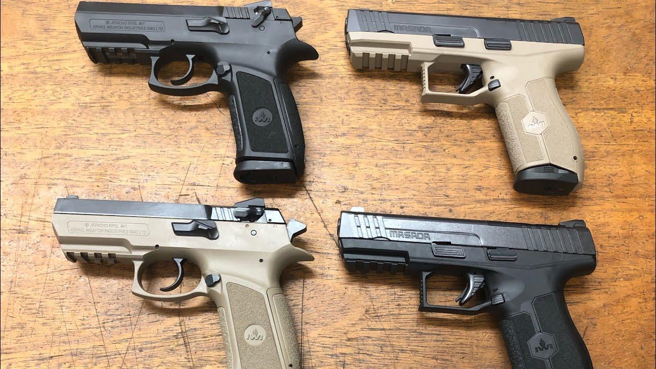 Pistolas IWI Israelenses cal.9mm *Casa Braço de Prata Artigos Esportivos Ltda*