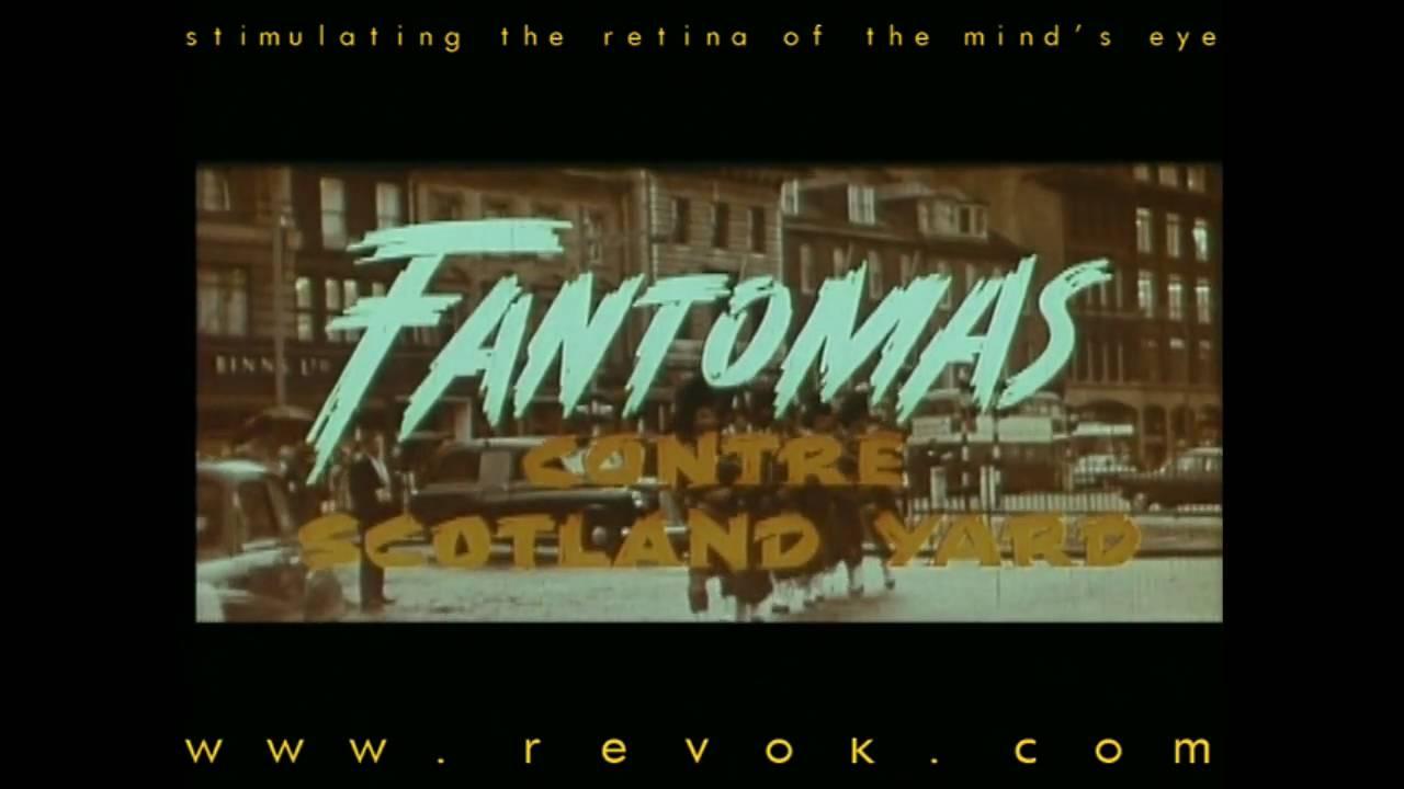 FANTOMAS CONTRE SCOTLAND YARD (1967) French trailer for more comedy action adventure