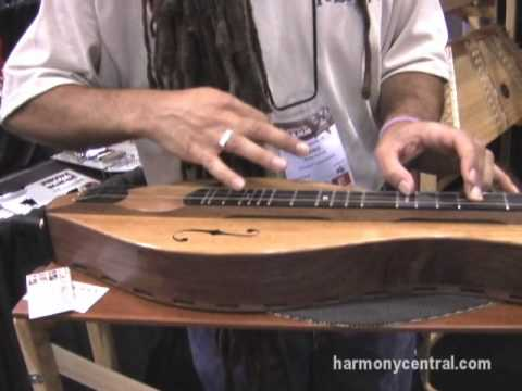 Folkcraft Instruments Dulcimer at Summer NAMM 2010