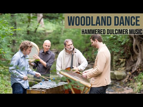 Woodland Dance - Hammered Dulcimer, Percussion, Cello - Acoustic Cinematic Music