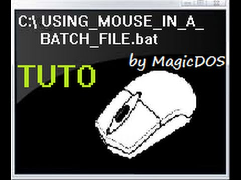 [TUTO] Using mouse in batch files