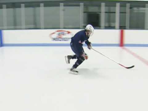 USA Hockey Skills and Drills - Backward to Forward: Step Out