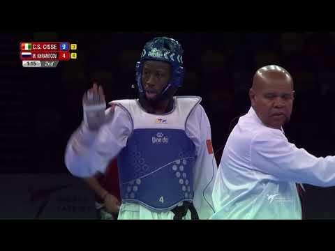 [Male -80kg FINAL] London 2017 World Taekwondo Grand-Prix