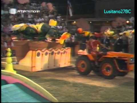 Jogos Sem Fronteiras - 1979 #4 - Chioggia (I) - Jeux Sans Frontières - RTP Memória