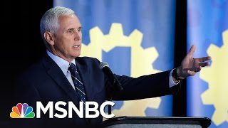 Vice President Mike Pence Set To Appear At Anti-Abortion March | MSNBC
