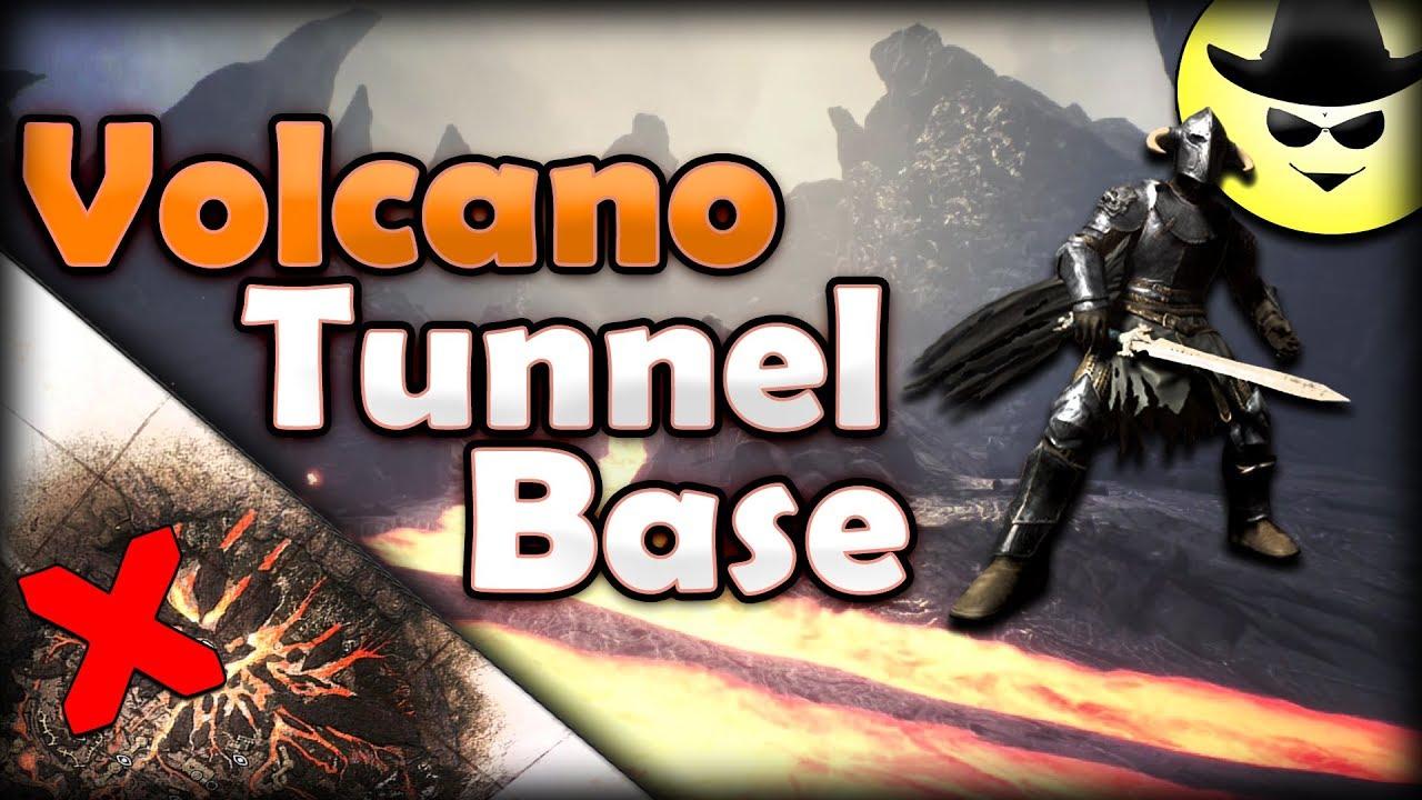 Volcano Tunnel Base - Conan Exiles