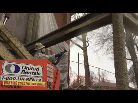 Fireproofing Steel Beams and Columns