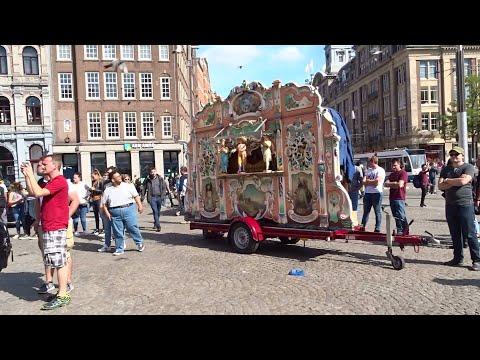 Draaiorgelfestival Dam Amsterdam 2019: O.a.  Arabier, Pipo, Sik En Kaassporter