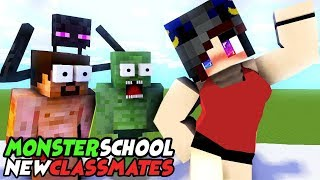 MONSTER SCHOOL : NEW CLASSMATES - SWIMMING CHALLENGE