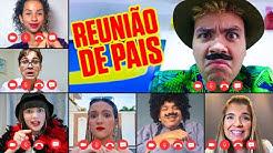 REUNIÃO DE PAIS ONLINE NA ESCOLA FANTÁSTICA