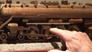 Reading 2100 Wooden Train Model