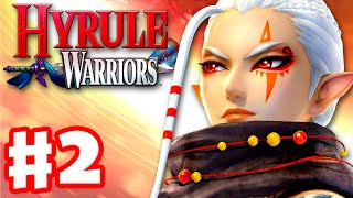Hyrule Warriors - Gameplay Walkthrough Part 2 - Impa in Eldin Caves! Wizzro Boss! (Wii U)