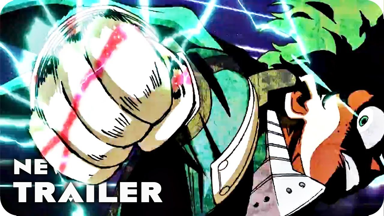My Hero Academia: Two Heroes English Trailer (2018) Boku no Hero Academia The Movie