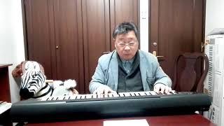 作曲家 桑原 巌「ホルチン草原の女神」を奏でる