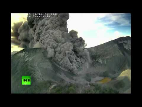 Spewing Ash: Turrialba Volcano eruption forces shut down of Costa Rica main airport