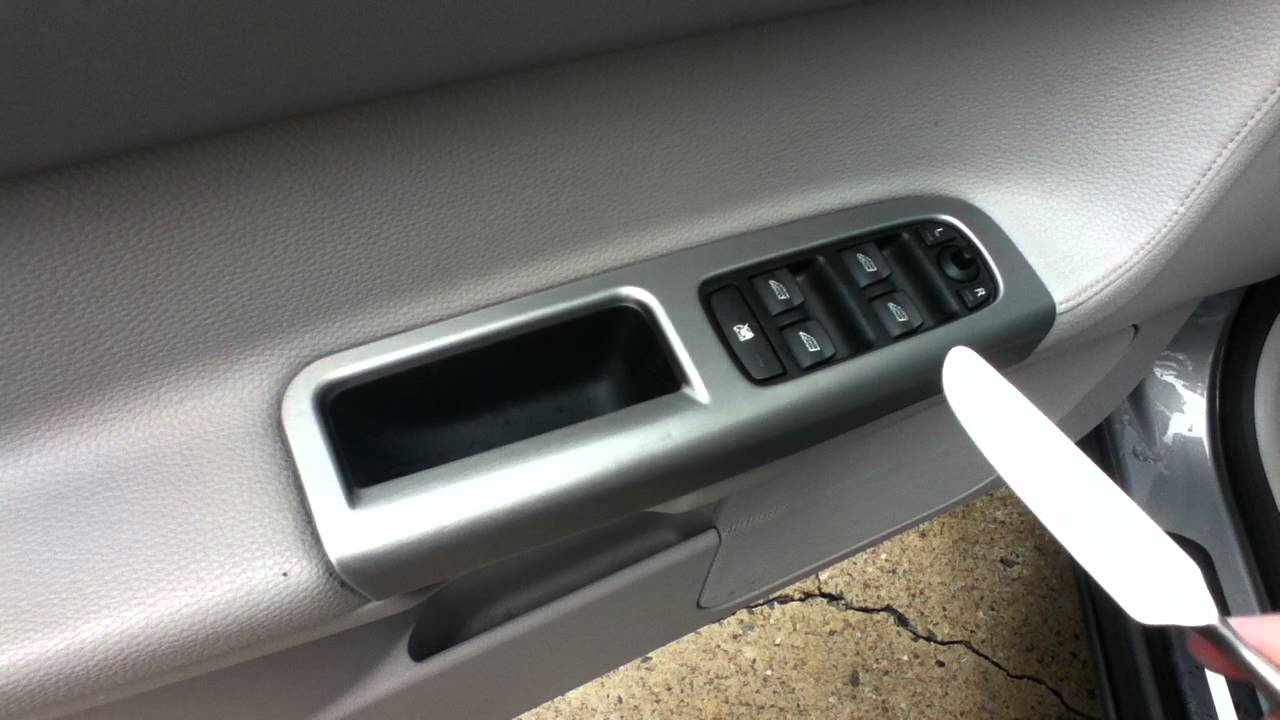 Volvo S40 Door Handle Removal Youtube