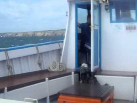 Ruff boat trip back from Caldey island