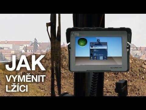 IDig 2D Touch - Jak Rychle Vyměnit Nástroj?