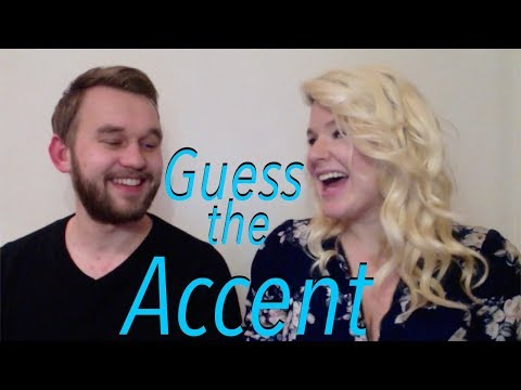 My Czech Boyfriend Guesses English Accents