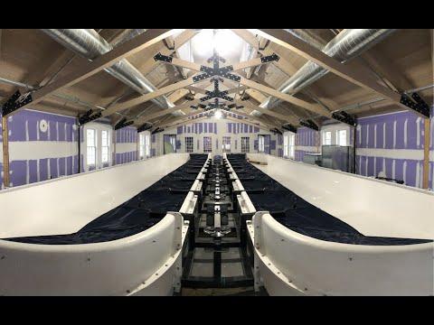 Rowing Tank Time Lapse - Duxbury Bay Maritime School