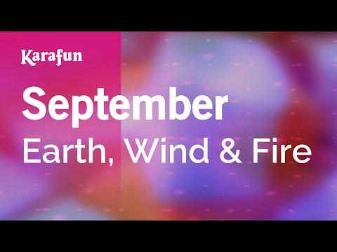 Karaoke September - Earth, Wind & Fire *