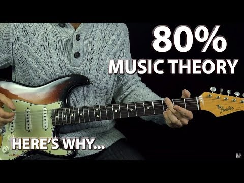 Playing Guitar By Ear is 80% Music Theory