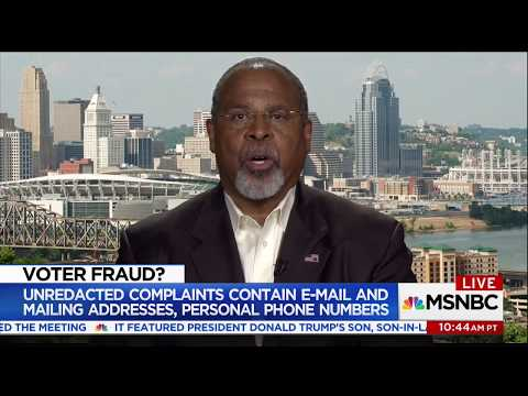 Ken Blackwell on the election commission
