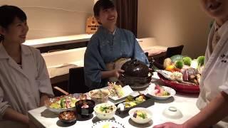 秋の旬の味覚が織りなす至極の会席を、料理長 伊藤がご案内します ホテ...