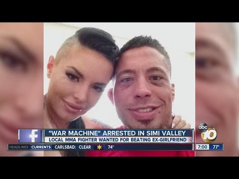 MMA Fighter War Machine Apprehended After Manhunt