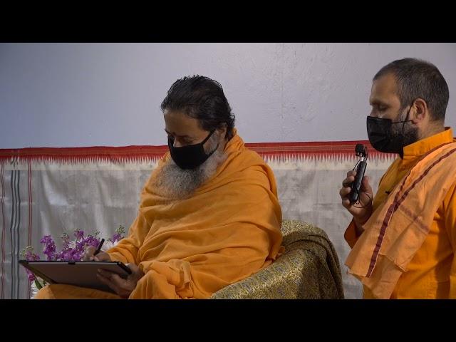 Mother's Day May 9, 2021 Darshan with Paramahamsa Prajnanananda